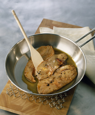 Recette foie gras poel la plus simple des fa ons de - Cuisiner le foie gras frais ...